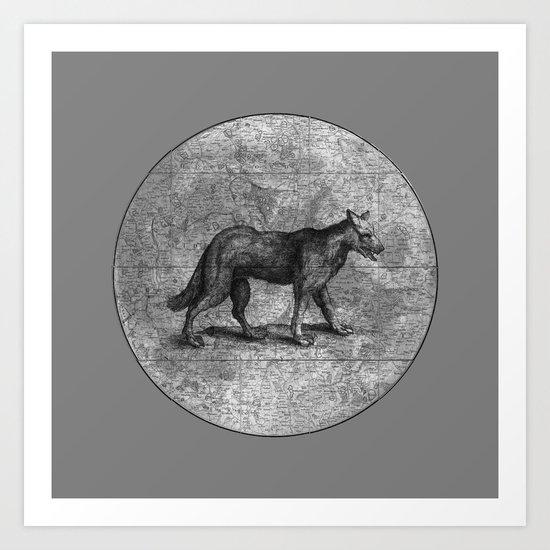 Werewolves of London Art Print
