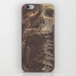 Catacomb Culture - Lost in the Woods Human Skull iPhone Skin