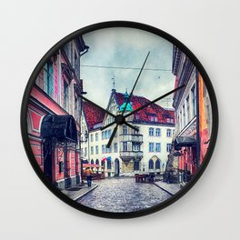 Tallinn art 11 #tallinn #city Wall Clock