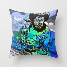 Lone Hand Throw Pillow