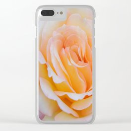 Glorious Rose Clear iPhone Case