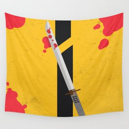 KILL BILL Tribute Wall Tapestry