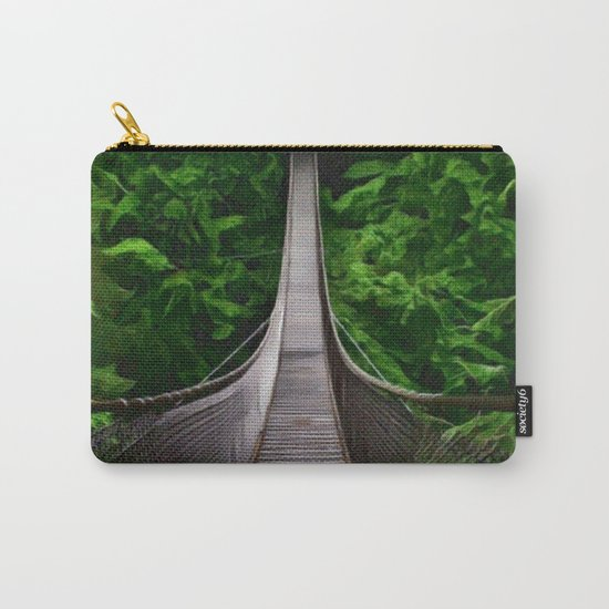 A Bridge to Adventure Carry-All Pouch