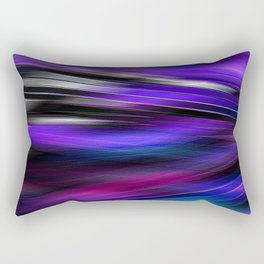 Re-Created  Feather ix by Robert S. Lee Rectangular Pillow