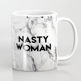 Nasty Woman (marble) Coffee Mug