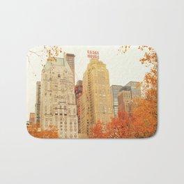 Autumn - Central Park - Fall Foliage - New York City Bath Mat