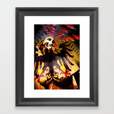 L'invasion Madonna Framed Art Print
