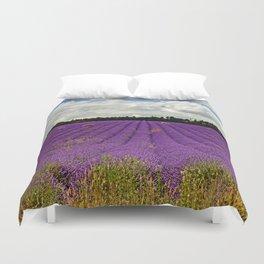 Lavender Landscape Duvet Cover