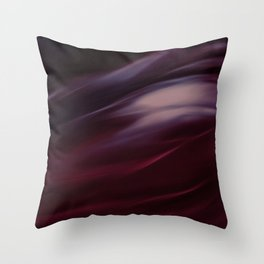 Storm in Red Throw Pillow
