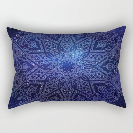 Space mandala Rectangular Pillow