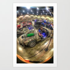 Lets Go Back to the Future! Art Print