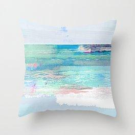 Happy Beach Day Throw Pillow