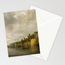 View of the Valkhof in Nijmegen, by Jan van Goyen Stationery Cards