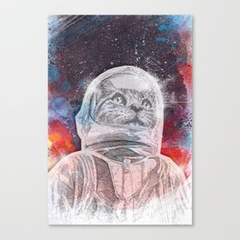 Space_Cat Canvas Print