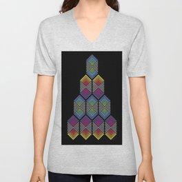 triangle Unisex V-Neck