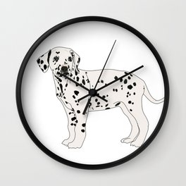 Dalmation Wall Clock
