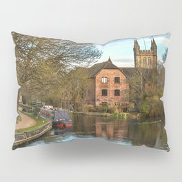 The Kennet and Avon at Newbury Pillow Sham