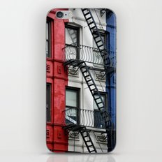 NYC Red White Blue iPhone & iPod Skin