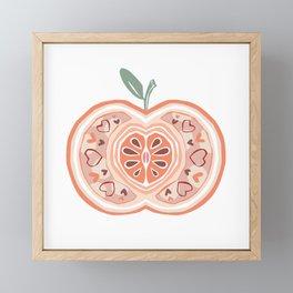 Apple Framed Mini Art Print