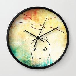 Confused Little Jesus Wall Clock