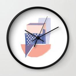 Geo Tile i Wall Clock