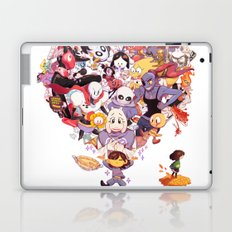 Undertale heart Laptop & iPad Skin