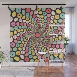 Donut Swirl Wall Mural
