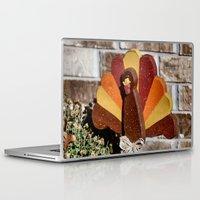 turkey Laptop & iPad Skins featuring Turkey Day by IowaShots