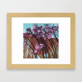 The Sound of Wind Framed Art Print