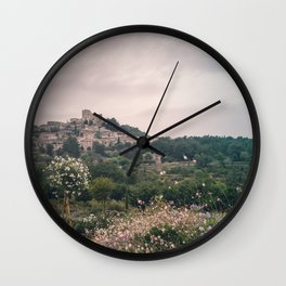In The Footsteps of Romans Wall Clock