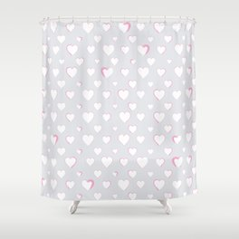 Made for you my heart 34 Shower Curtain