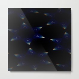 Sapphire Night Metal Print