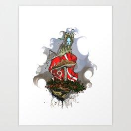 Recycled fairytale Art Print