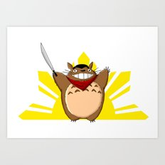 Totoro Bonifacio Art Print