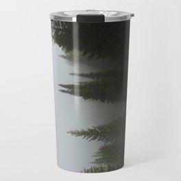 Olive Green Pines Travel Mug