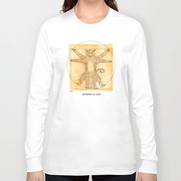 Leopardo da Vinci Long Sleeve T-shirt
