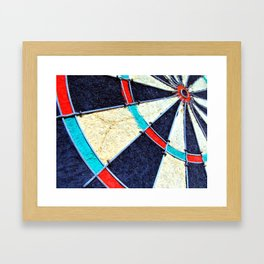Dartboard Framed Art Print