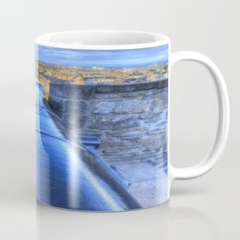 Edinburgh Castle Cannon Coffee Mug