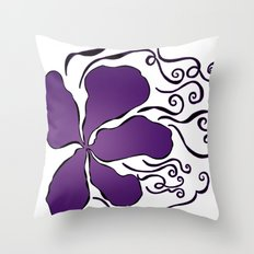 A Bit Winded Throw Pillow