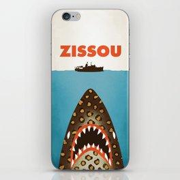 Zissou The Life Aquatic iPhone Skin