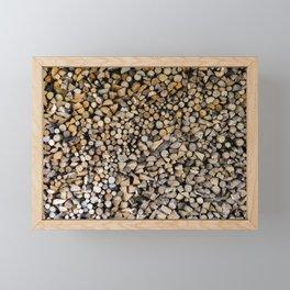 Massive assorted pile of firewood, Photography Framed Mini Art Print