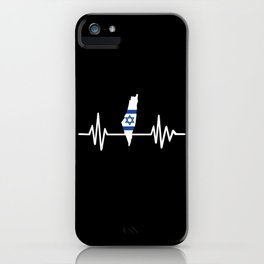 Israel pulse iPhone Case
