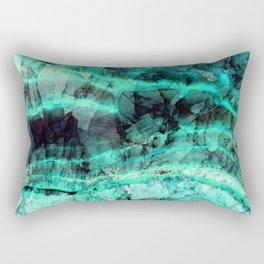 Turquoise onyx marble Rectangular Pillow