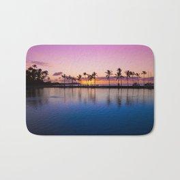 Sunset on Hawaiian Beach Bath Mat