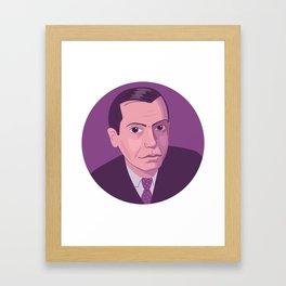 Queer Portrait - Cole Porter Framed Art Print