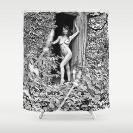 Nude Art Photogrphy by Mary Bassett Shower Curtain