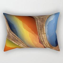 Mountain Mash Up Rectangular Pillow