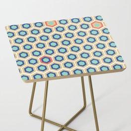 Digital Honeycomb Side Table