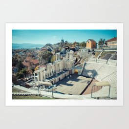 Amphitheater Art Print