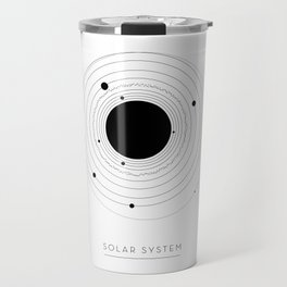 The Solar System (with Pluto) Travel Mug